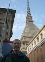 На фоне символа Турина