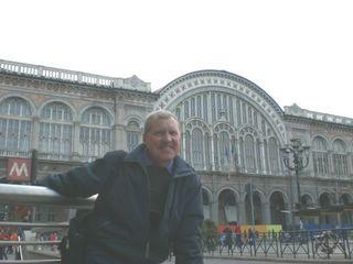 Железнодорожный вокзал в Турине