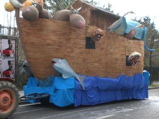 Ноев ковчег из театрализованного шествия