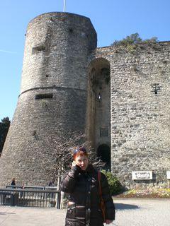 Главная башня старой крепости