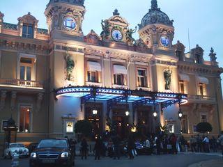 Знаменитое казино в Монте-Карло