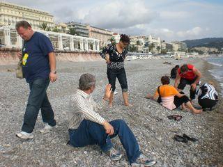 Заскочили в Ниццу пополоскать ноги в Лигурийском море